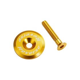 Reverse Headset cap gold